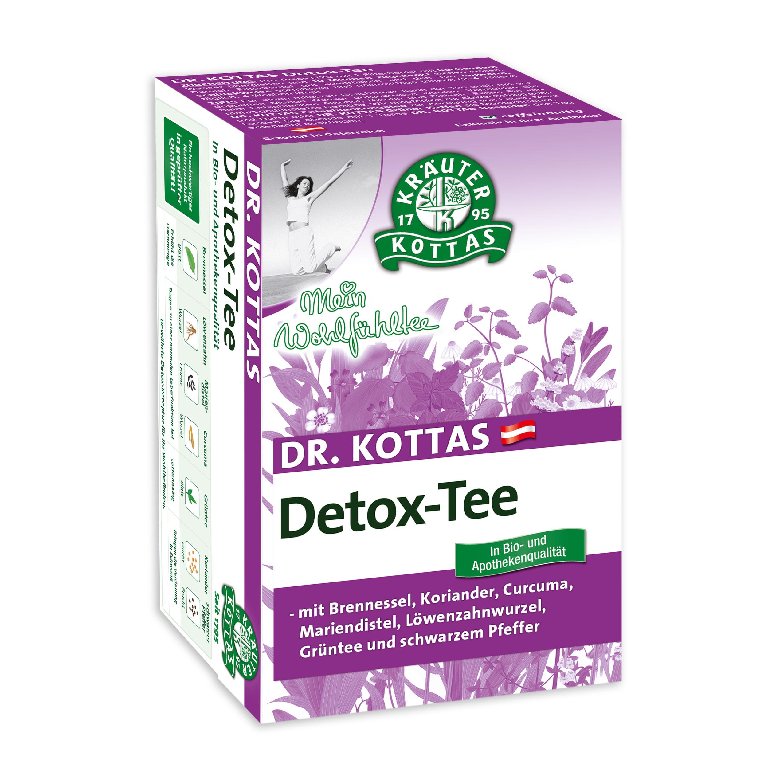 kann man mit detox tee abnehmen
