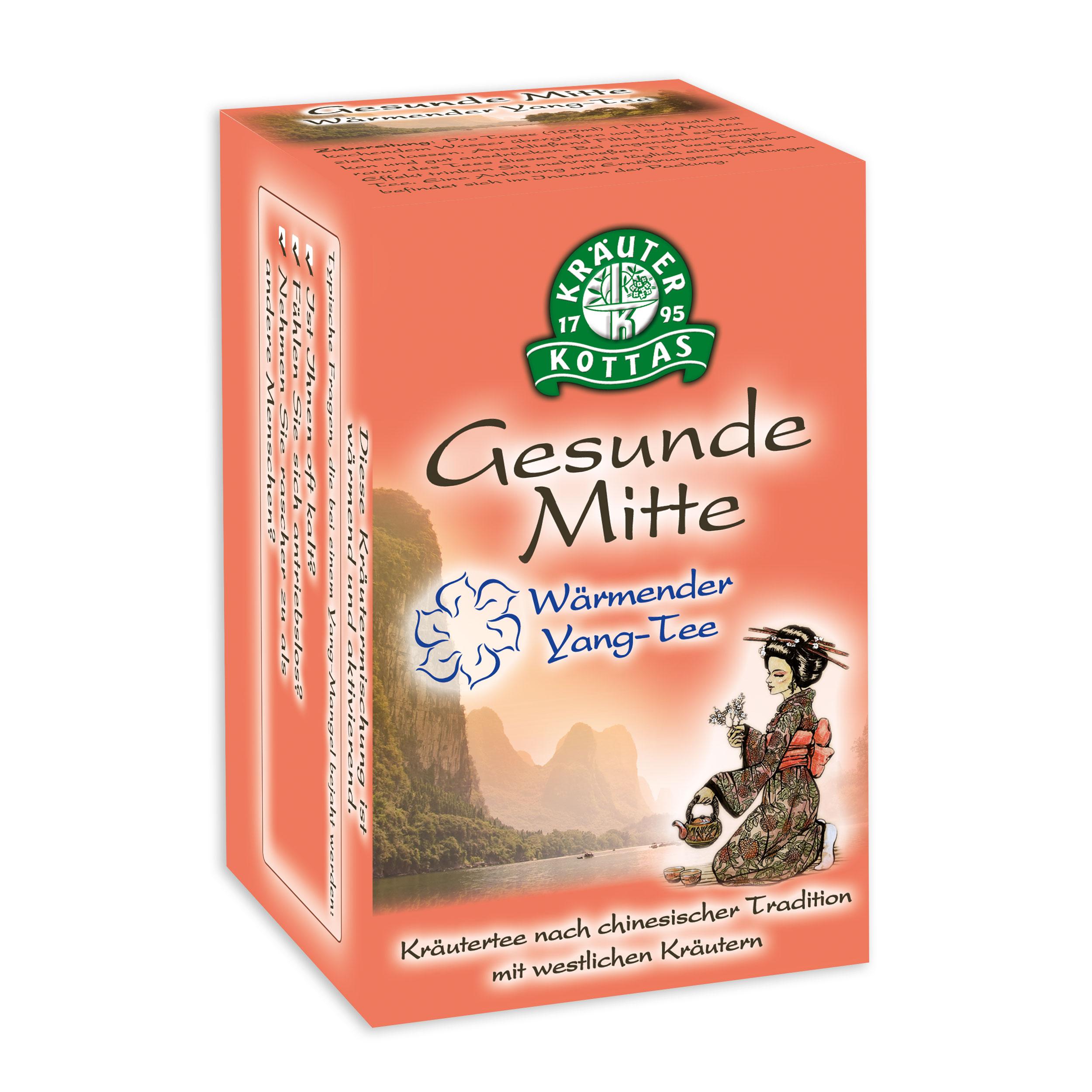 Gesunde Mitte Harmonisierender 5 Elemente Tee